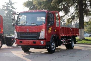 中国重汽HOWO 统帅 110马力 3.65米排半栏板轻卡(ZZ1047C3314E145-2)