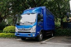 福田 奥铃新捷运 184马力 4.18米单排仓栅式轻卡(国六)(BJ5048CCY-A1) 卡车图片