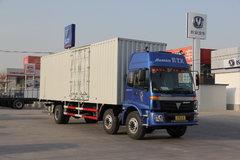 福田 欧曼ETX 5系重卡 185马力 6X2 8.6米厢式载货车(平顶驾驶室)(BJ5167VJCHH-S) 卡车图片