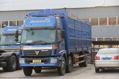 福田 欧曼CTX 5系重卡 185马力 6X2 8.6米仓栅载货车(平顶驾驶室)(BJ5167VJCHH-S1)