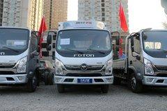 福田 奥铃TS 110马力 4.14米单排厢式轻卡(气刹)(BJ5045XXY-F2) 卡车图片