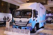福田 欧马可 8.3T 3.8米排半纯电动自动驾驶轻卡