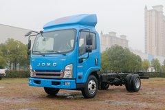 骐铃汽车 H300 116马力 4.08米单排厢式轻卡底盘(宽体)(JML5042XXYCD5) 卡车图片