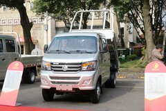 重汽王牌 W1 2.2L 112马力 4X2 汽油 2.6米自卸车 卡车图片