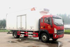 中国重汽HOWO G5X 210马力 4X2 5.09米排半冷藏车(ZZ5167XLCG421DE1)