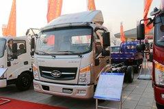 唐骏欧铃 T7系列 速达 156马力 4.1米单排栏板轻卡(ZB1041UDD6V) 卡车图片