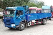 青岛解放 龙V中卡 220马力 4X2 6.2米排半栏板载货车(CA1181PK2E5A80)