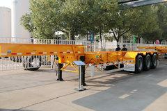 中集华骏 20英尺大鹅颈骨架车(集装箱运输半挂车)