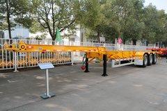 中集华骏 30英尺大鹅颈骨架车(集装箱运输半挂车)