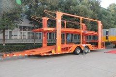 中集华骏 12米中置轴车辆运输挂车