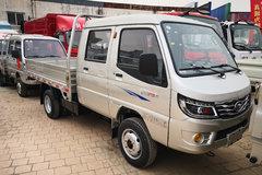 唐骏欧铃 赛菱F3-1 1.3L 88马力 汽油 2.56米双排栏板微卡(ZB1033ASC3V) 卡车图片