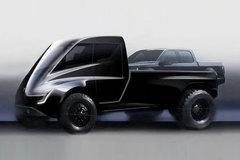 特斯拉 优特 四驱纯电动皮卡 卡车图片