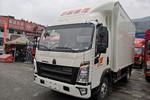 中国重汽HOWO 悍将 物流版 143马力 4.15米单排厢式轻卡(ZZ5047XXYF3315E145)图片
