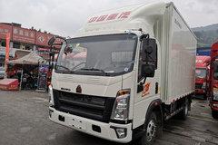 中国重汽HOWO 悍将 物流版 143马力 4.15米单排厢式轻卡(ZZ5047XXYF3315E145) 卡车图片