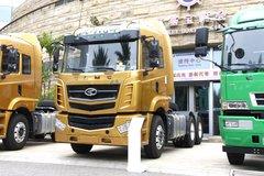 华菱 汉马H6重卡 420马力 6X4牵引车(HN4252H46C4M5) 卡车图片