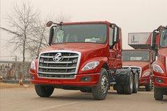 东风柳汽 乘龙T5重卡 400马力 6X4长头牵引车(平顶)(LZ4250T5DB) 卡车图片