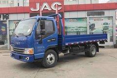 江淮 新康铃H5宽体 156马力 4.2米单排栏板轻卡(HFC1043P91K2C2V) 卡车图片