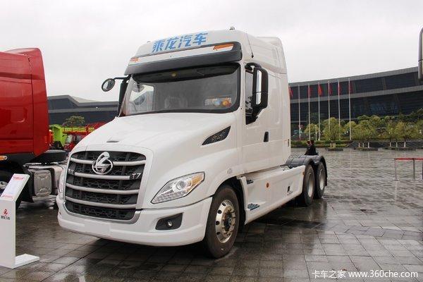 东风柳汽 乘龙T7重卡 560马力 6X4长头长轴距牵引车