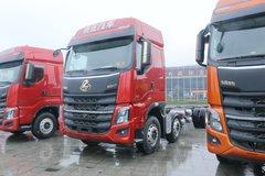 东风柳汽 乘龙H7重卡 2019款 480马力 8X4 9.6米载货车底盘(LZ1312H7FB) 卡车图片