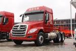 东风柳汽 乘龙T5重卡 430马力 6X4 LNG长头牵引车(赤焰红)(LZ4250T5DL)图片