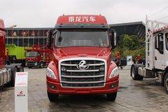 东风柳汽 乘龙T5重卡 430马力 6X4 LNG长头牵引车(赤焰红)(LZ4250T5DL)