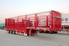 锣响 13米超低货台仓栅式运输半挂车