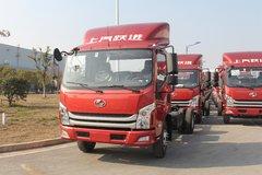 跃进 超越C500Plus-33 156马力 4.2米单排栏板轻卡(SH1082ZFDDWZ) 卡车图片