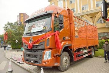 东风柳汽 乘龙H5中卡 220马力 4X2 6.8米仓栅式载货车