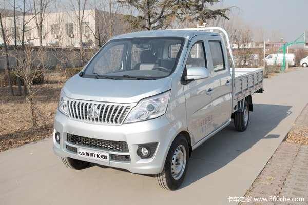 长安凯程 神骐T10 舒适型 1.5L 112马力 汽油 2.52米双排栏板微卡(单蒸空调)
