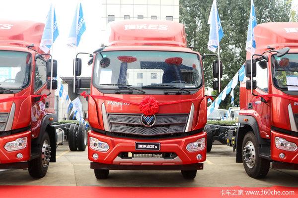 福田瑞沃7.8米箱车.价格冰点.欲购从速