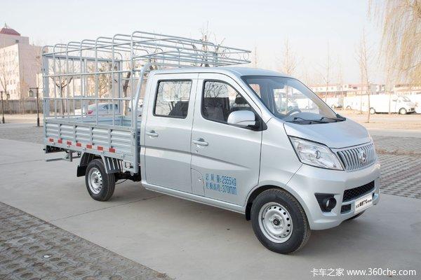 降价促销神骐T10载货车双排仅售4.89万