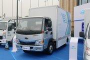 开瑞绿卡 大象 4.5T 4.15米单排纯电动厢式轻卡(SQR5042XXYBEVH16)