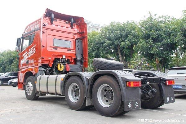 青岛解放 JH6重卡 500马力 6X4牵引车(CA4250P25K2T1E5A)