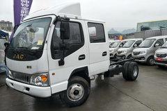 江淮 帅铃Q3 120马力 3.2米双排仓栅式轻卡底盘(HFC5041CCYR93K1C2) 卡车图片