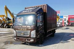 唐骏欧铃 K3系列 旗舰版 110马力 4.15米单排厢式轻卡(ZB5042XXYJDD6V) 卡车图片