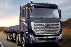 现代 创虎XCIENT PRO重卡 540马力 10X4 AMT自动栏板载货车 卡车图片