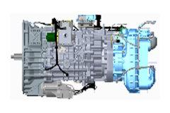一汽解放CA12TAX260A5 12挡 AMT自动挡变速箱