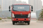 中国重汽HOWO 悍将 170马力 4.165米单排栏板轻卡(ZZ1047F341CE145)图片