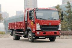 中国重汽HOWO 悍将 190马力 4.15米单排栏板轻卡(国六) 卡车图片