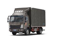 中国重汽HOWO 统帅 标载版 154马力 4.15米单排厢式轻卡(国六)(ZZ5047XXYF341CE145) 卡车图片