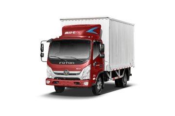 福田 奥铃CTS 156马力 4.14米单排厢式轻卡(BJ5048XXY-FM)图片