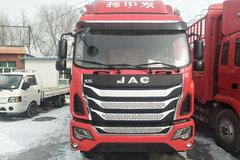 江淮 格尔发K6LⅡ中卡 220马力 4X2 6.8米仓栅式载货车(HFC5181CCYP3K1A53S6V) 卡车图片