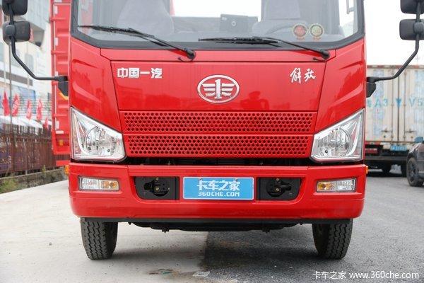 宿迁解放轻卡J6F平板载货车优惠促销中