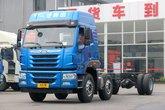 青岛解放 悍V重卡 260马力 6X2 9.5米栏板载货车(435后桥)(CA1250P1K2L7T3E5A80)