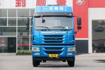 青岛解放 悍V重卡 290马力 8X4 9.5米栏板载货车(CA1310P1K2L7T4E5A80)