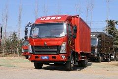 中国重汽HOWO 悍将 2018款 170马力 4.15米单排厢式轻卡(10挡)(ZZ5047XXYF341CE145) 卡车图片