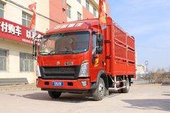中国重汽HOWO 统帅 148马力 4.15米单排越野仓栅式轻卡(ZZ2047CCYG332CE145) 卡车图片