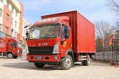 中国重汽HOWO 统帅 2018款物流版 141马力 4.15米单排厢式轻卡(ZZ5047XXYF341CE145) 卡车图片