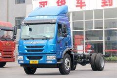 青岛解放 龙V中卡 180马力 4X2 6.2米仓栅式载货车(CA5181CCYPK2E5A80)