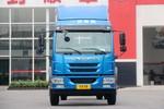 青岛解放 龙V中卡 180马力 4X2 6.2米仓栅式载货车(CA5181CCYPK2E5A80)图片
